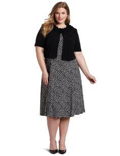 Jessica Howard Womens Plus-Size Paisley Jacket  Clothing Impulse Clothing, Shoes & Jewelry : Women : Clothing : Dresses : big sizes http://amzn.to/2luZtGE