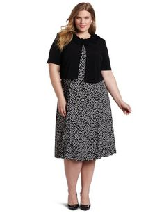 Jessica Howard Women's Plus-Size Paisley Jacket « Clothing Impulse
