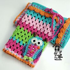 Crochet pattern  owl legwarmer DIY by VendulkaM on Etsy, $5.00