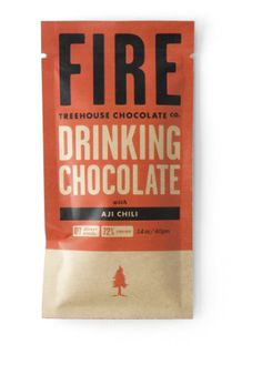 Treehouse Chocolate Co. Fire Chili Drinking Chocolate