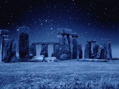 Blue Stonehenge