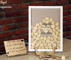 Personalized wedding sign Wedding guest book sign Alternative