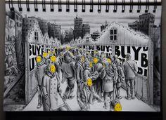Provokativní kresby, které vás donutí k zamyšlení