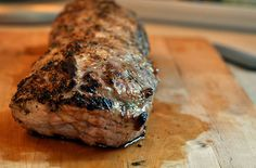 Grilled Pork Loin