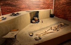 #archaeology #museum #PMA #Warsaw #skeleton #burial
