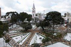 Neve em Guarapuava/PR - 2013
