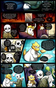 Reminiscence: Undertale Fan Comic Pg. 26 by Smudgeandfrank on DeviantArt