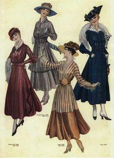 1916 by dovima_is_devine_II, via Flickr