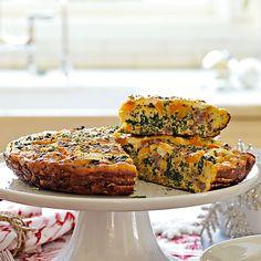 Butternut Squash, Kale and Sausage Frittata