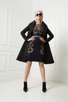 Temperley London Spring 15, Josette Dress, Novah Coat
