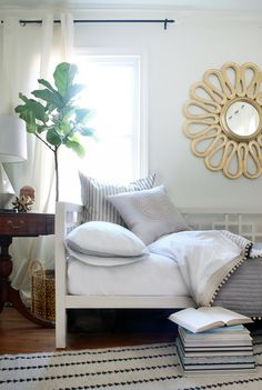 Hunted Interior Summer Home Tour 2014 Love The Mirror