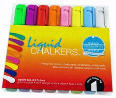 Liquid CHALKERS Chalkboard markers {Review & Giveaway} Ends 11/25
