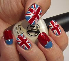 Union Jack Nails by Ithfifi.deviantart.com on @DeviantArt