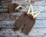 Image result for crochet baby suspenders pattern