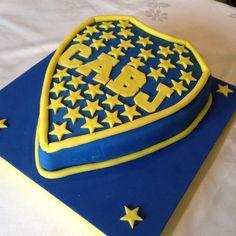 Torta Boca Júniors! Boca Juniors cake! Facebook: https://www.facebook.com/Happily-Ever-After-Reposter%C3%ADa-artesanal-131176960188/