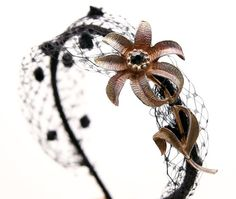 Vintage flower headband for women women hair by BeSomethingNew, $35.00