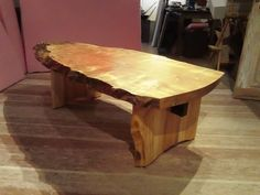Untitled Chair Design Wooden, Wood Table Design, Coffee Table Legs, Spalted Maple, Woodworking Furniture Plans, Built In Bookcase, Furniture Projects, Wooden Furniture, Furniture Design