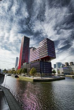 Most Beautiful Skyscrapers - Rotterdam Red Apple