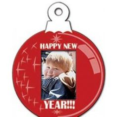 Holiday Fun Small Ornament Photo Frame