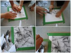 A simple but beautiful charcoal technique for even the youngest artist
