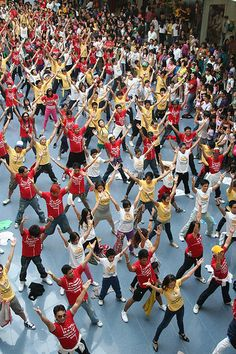 Yeah, I want to be part of a flash mob.  Just because.
