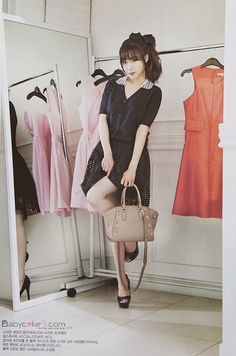 Tiffany Hwang SNSD Girls' Generation - Vogue Girl Magazine March Issue 2014