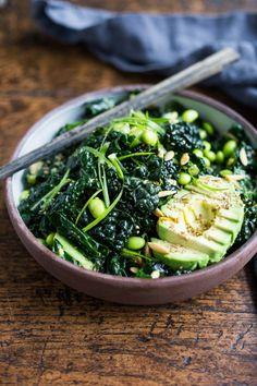 emerald kale saladReally nice recipes. Every hour.Show me what  Mein Blog: Alles rund um Genuss & Geschmack  Kochen Backen Braten Vorspeisen Mains & Desserts!
