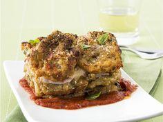 Parmigiana di carciofi : Scopri come preparare questa deliziosa ricetta. Facile, gustosa e adatta ad ogni occasione. Questo contorno ha un tempo di preparazione di 1 ora 30 minuti.