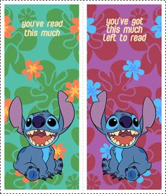 Lilo and Stitch Bookmarks 1 Walt Disney, Disney Diy, Disney Crafts, Easy Diy Crafts, Crafts For Kids, Lilo En Stitch, Disney Bookmarks, Disney Crochet Patterns, Disney Printables