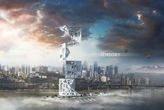 Sensory Skyscraper- eVolo   Architecture Magazine