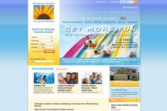 Located in the prestigious ChampionsGate area, Florida Spirit Vacation Homes is conveniently in the middle of Orlando's biggest attractions. -- Vacation Rental website by Blue Tent Marketing; view more work samples: http://www.bluetentmarketing.com/portfolio/vacation-rentals