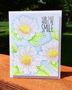 https://flic.kr/p/HPCrXK   Daisies   Love this daisy set from Altenew!