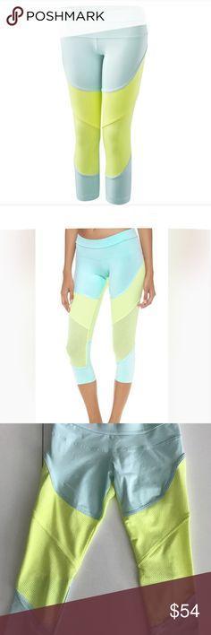 Stella McCartney crops New without tags. Adidas by Stella McCartney Pants Leggings