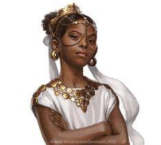 Ravenmarch Characters, Winona Nelson on ArtStation at https://www.artstation.com/artwork/5ER98