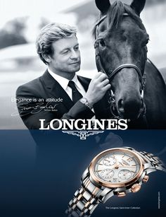 Longines new advertising campaign featuring Simon Baker with Longines unveiled