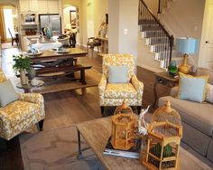 Family Room Small Living Room Design, Pictures, Remodel, Decor and Ideas - page 4 My Living Room, Home And Living, Living Spaces, Small Living, Traditional Family Rooms, Traditional House, Rug Under Dining Table, Dining Room, Dining Area