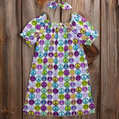 Lolly Wolly Doodle Purple Peace Dress 6/6