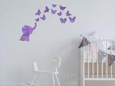 Sticker oglinda mov Micul elefant - o decoratiune de perete dragalasa pentru camera copilului. Kids Room, Stickers, Home Decor, Room Kids, Decoration Home, Room Decor, Child Room, Kid Rooms, Home Interior Design