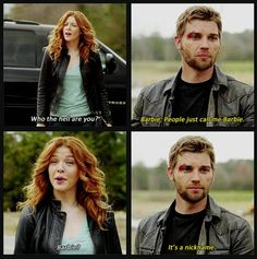"""""""It's a nickname."""" - Under The Dome Episode 1 """"Pilot"""""""