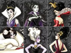 DISNEY WITCHES I LOVE CRUELA