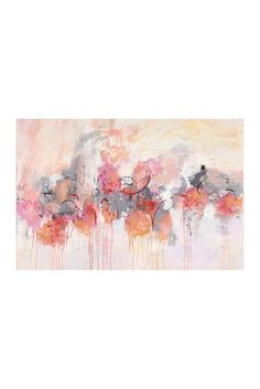 Image of Marmont Hill Inc. Petal Patch II Canvas Wall Art