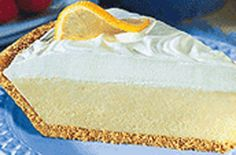 Lemon Delight Pie for Susan Learn To Cook, Seafood Dishes, It's Easy, Vanilla Cake, Sweet Treats, Cheesecake, Deserts, Lemon, Yummy Food