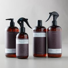 Keep your entire home tidy (from the kitchen to the bathroom!) using the force of nature as an effective alternative to conventional cleaning products. Formulated with a 100 percent natural fragrance made with pure essential oils that's free of parabens, glycol solvents, formaldehyde, ammonia, phosphates, and artificial colors.- Free from artificial colors, parabens, formaldehyde, ammonia, phosphates, artificial colors, triclosan, MEA, DEA- Scent: Juniper, Eucalyptus, Lavender- USA16.5 fl oz Cleaning Spray, Cleaning Products, Umbrella Wedding, Linen Spray, Healthy Skin Care, Pure Essential Oils, Bottle Design, Natural Skin Care, Body Care