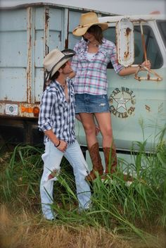 Country Couple.