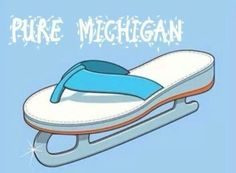 Haha...Michigan!!  I didn't think some of the lakes would ever melt in time for summer.