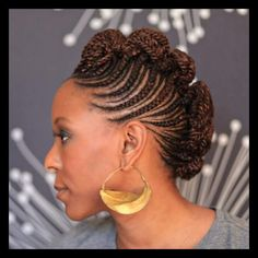 51 Latest Ghana Braids Hairstyles with Pictures - Beautified Designs | WomanAdvise - WOMANADVISE.COM