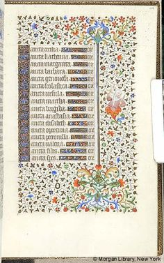 Book of Hours, MS M.453 fol. 114r - Images from Medieval and Renaissance Manuscripts - The Morgan Library & Museum