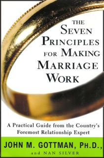 Seven Principles for Making Marriage Work: A Practical Guide from the Country's Foremost Relationship Expert. Dr. John Gottman has revolutionized the study of marriage by using rigorous scientific procedures to observe the habits of married cuouples in unprecedented detail over many years.  This is a must have resources for life partners.