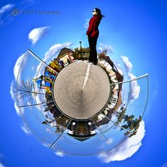 #102 AFTER - Faceless Self-Portrait  on a little planet #365project #30daychallenge http://www.veedophotography.com/102-project-365/