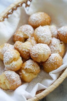 Beignets - homemade beignets have never been so easy and delicious! This easy beignet recipe is fail-proof and so good you can\'t stop eating   rasamalaysia.com